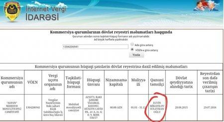 Süleyman Mikayılovun milyoner oğlu və kredit borcu