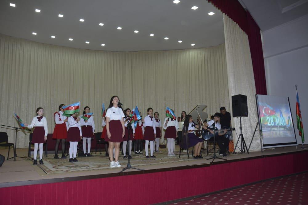 Agstafada 28 May Respublika Gününə həsr edilmiş bayram tədbiri keçirildi - FOTO